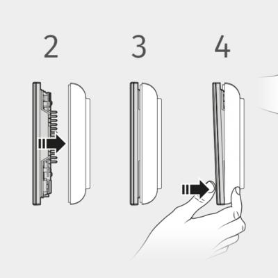 Kit montaggio da superficieper videocitofoni 7″ Kristallo KRV7985