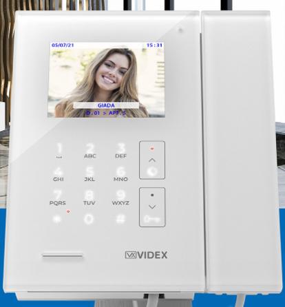 Centralino telefonico di portineria Videx…  semplicità di utilizzo